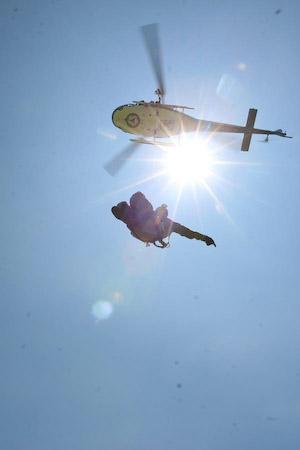Rescate aéreo